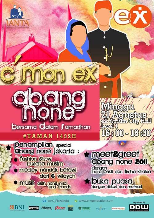 C mon eX Abang None Jakarta Bersama Dalam Ramadhan 337d08e574